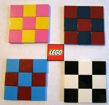 Lego 2x2 Dachziegel Ziegel (Packungen 9 oder 16) - Farbe wählbar oder Karomuster 3068