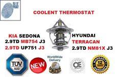 para Kia Sedona 2.9td J3 99-09 HYUNDAI TERRACAN 2.9td J3 03-07 Termostato NUEVO