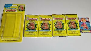 Topps Garbage Pail Kids Series 5 Gross Stickers - 4 Packs and Exclusive Sticker