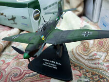 Junkers Ju87B Stuka Stab III/StG 77 Caen - Scala 1:72 Die Cast - Oxford Aviation
