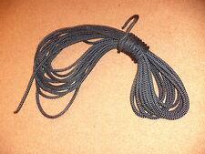 Trampoline  LACING 50 ft for hobie prindle, etc Black