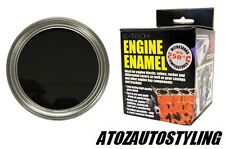E-TECH BLACK  Engine Block Enamel PAINT Valves 250ml <<NEW>>