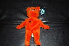 Barry Bonds #25 Bamm Beano's Bear Nwt Mint Orange Mlb