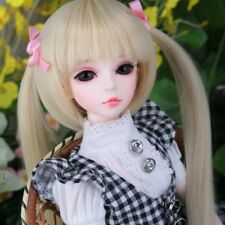 DollLove Yasa 1/4 MSD DL girl BJD mini super dollfie FREE face up eyes fur wig