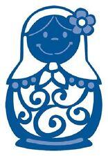 Marianne Creatables die de découpe & gaufrage stencill BABOUSHKA Poupées lr0171