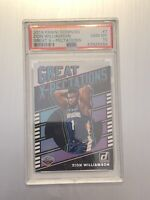 Zion Williamson 2019 Donruss Great X-Pectations Rookie RC PSA 10 GEM Low Pop 🔥