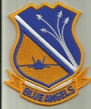 BLUE ANGELS U.S.NAVY PATCH AEROBATIC FIGHTERJET PILOT AVIATOR DEMONSTRATION TEAM