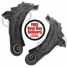 Renault Grand Scenic 4/2004-2009 Steel Front Lower Suspension Wishbone Arms Pair