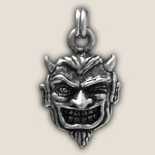 SMILING DEVIL FACE  ZIPPER PULL for harley motorcycle leather jacket zp04