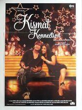 NEW BOLLYWOOD MOVIE POSTER- KISMAT KONNECTION /SAHID KAPOOR VIDHYA BALAN