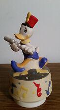 Walt Disney Schmid Daisy Rotating Music Box plays A Pretty Girl is Like A Melody