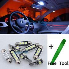 14x White Canbus Interior LED Light Package Kit For BMW 3 Series E90 328i 335I 4