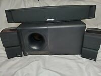 Bose Acoustimass 5 series II  w/ Center Channel  VCS-10 & 1 Pair Cube Speakers