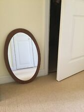 vintage oval wall mirror - Collection Only From Cheshire