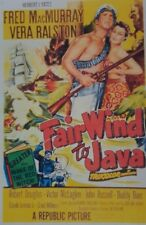 FAIR WIND TO JAVA (DVD 1953 Fred MacMurray Vera Ralston)