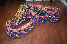 K'nex Ball Machine - Loopy Over 2000 Pieces COMPLETE SET W/ Instructions & Motor