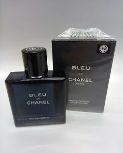 BLEU DE CHANEL Eau de Parfum for Men 3.4 oz / 100 ml New in box Sale