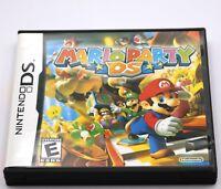 Mario Party DS Wario Luigi Nintendo DS Game NDS Lite DSi 2DS 3DS XL a F01