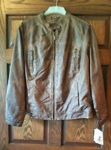 Jou Jou Juniors' Plus Faux-Leather Moto Jacket-size 2X