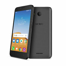 Alcatel Tetra 16GB GSM Unlocked 5041C Android 8.1 Oreo Phone Stealth Black
