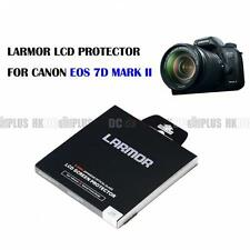 LARMOR For Canon EOS 7D Mark II Optical Glass LCD Protector Self Adhesive NEW