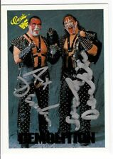 Demolition Ax And Smash Signed 1990 Classic Card #6