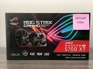ASUS ROG STRIX Radeon RX 5700 XT OC 8GB Graphics Card *IN HAND FREE 2DAY AIR*