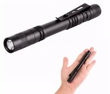 LED Flashlight Cree Mini Penlight AAA Battery Tactical 2000 Lumen Bright
