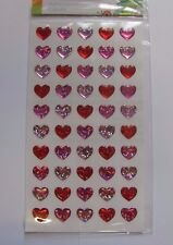 Gel Craft Stickers Self Adhesive stick on Hologram Embellishments Card making