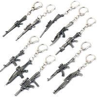 Crossfire CF AK47 M4A1 Machine Gun Weapon Model Keychain Key Ring Pendant Gift