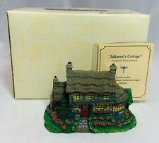Hawthorne Village Thomas Kinkade Sculpture Julianne's Cottage Vintage 1995 78882