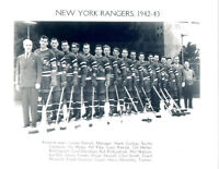 1942 1943 NEW YORK RANGERS 8X10 TEAM  PHOTO  HOCKEY NHL USA HOF