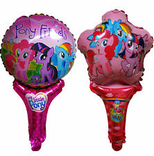 MY LITTLE PONY AIR FILL HANDLED BALLOON BIRTHDAY PARTY BAG FILLER GIFT FAVOR TOY