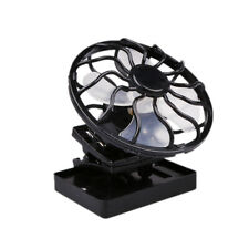 Ventilador de Energía Solar Clip-on Refrigerador de Sombrero Viaje Deportes