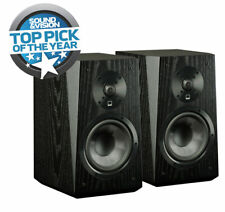 SVS Ultra Bookshelf Speaker (Pr) Black Oak (Open Box) w/ Minor Damage