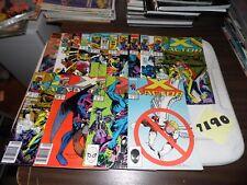 X-factor lot #15 #57 #58 #66 #66 #67 #68 #70 #71 #84 #85 #92 #116 #117 ann. #5