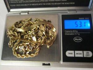 18k scrap gold