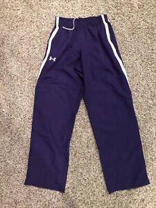Under Armour - Men's Medium Athletic Workout Pants  - Purple - Perfect Condition