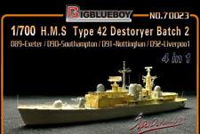 Bigblueboy PE 1/700 H.M.S Type 42 Destoryer Batch 2 (for Dragon) 70023