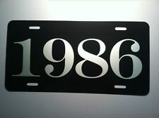 1986 YEAR LICENSE PLATE FITS CAMARO Z-28 IROC MUSTANG GT MONTE CARLO SS CORVETTE