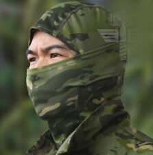 Camouflage Balaclava Face Mask Camo Hunting Airsoft Motorcycle WOODLAND MULTICAM