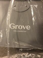 Grove Collaborative White Matte Cleaning Caddy Bucket NEW with TAGS