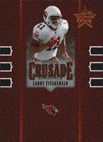 2005 Leaf Rookies and Stars Crusade Red #C16 Larry Fitzgerald /1250