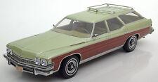 1974 Buick Domaine Wagon Vert Clair Métallisé par Bos Modèles le de 1000 1/18