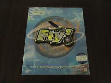 Fly!  (PC, 1999) WIN 95/98/NT  Flight Sim W/ 288-Page Manual PC