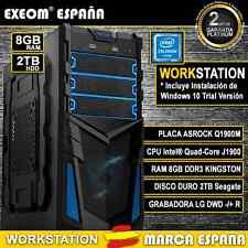 Pc Gaming Sobremesa QUAD CORE 9,6GHz 8GB RAM 2TB HD HDMI - Marca España
