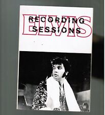 Elvis Presley RECORDING SESSIONS-2 softbound discography/sessionographyJORGENSEN