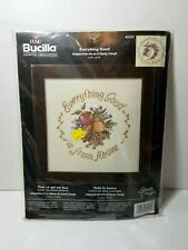 Counted Cross Stitch Kit Bucilla 43257 Everything Good Sandy Clough USA New