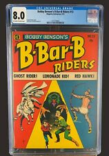B-Barbie-Riders #13 CGC 8.0 ME Comics 1952 Golden Age Frank Frazetta Cover!