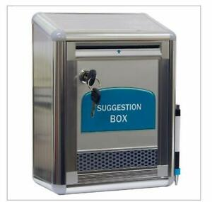 Aluminum Wall Mount Suggestion Box/Mail Box/Letter Box